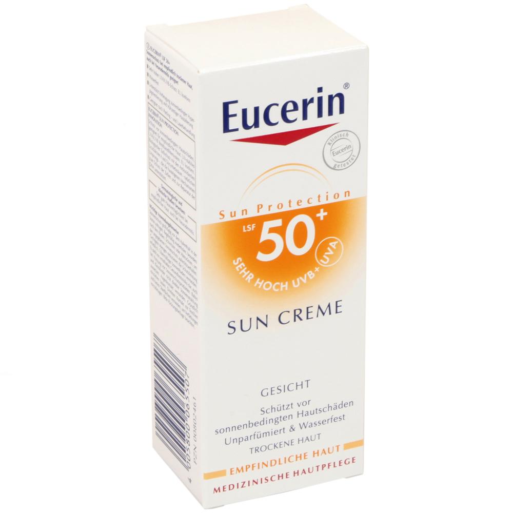 eucerin sun creme gesicht lsf50 sonnenschutz f r gesicht lippen sonnenschutz sonne und. Black Bedroom Furniture Sets. Home Design Ideas