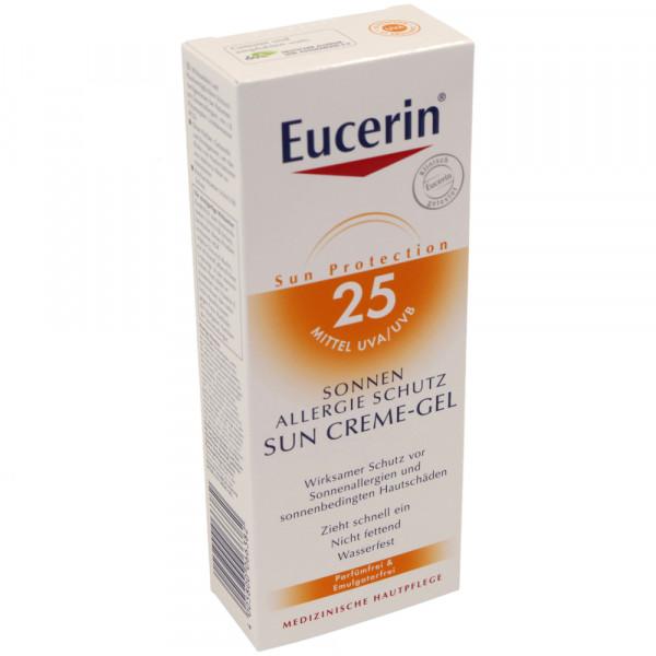 eucerin sun allergie schutz creme gel k rper lsf25 sonnenschutz f r den k rper sonnenschutz. Black Bedroom Furniture Sets. Home Design Ideas